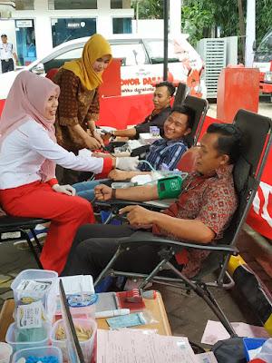 Astra Motor Sumsel Gelar Donor Darah Bersama PMI Kota Palembang