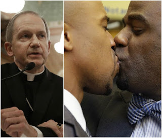 Catholic Bishop bans funeral rites, communion for gay people unless they repent