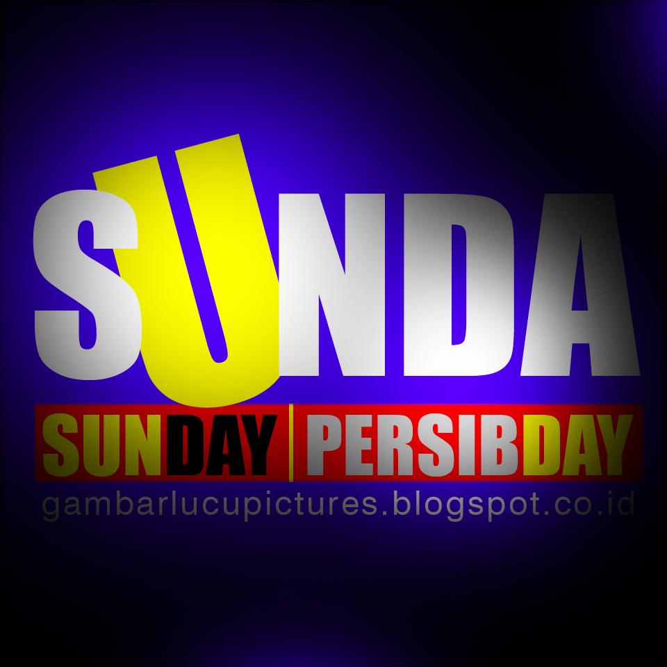 DP BBM Hari Minggu Bahasa Sunda Gambar Lucu Terbaru