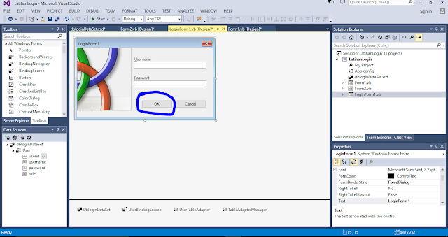 Cara Membuat Form Login VBNET Database SQL SERVER