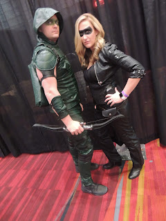 black canary green arrow cosplay