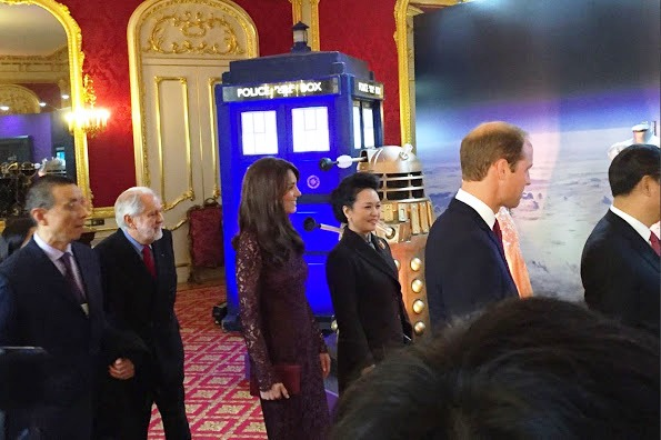 The Duke And Duchess of Cambridge At Britain Creative Event At Lancaster House