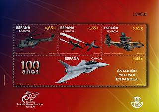 CENTENARIO DE LA AVIACION MILITAR ESPAÑOLA