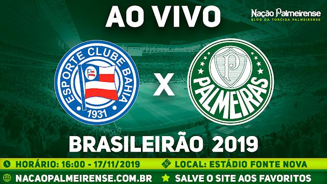 Assistir Bahia x Palmeiras Ao Vivo Online HD
