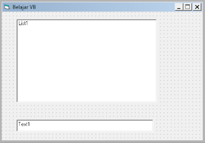 Coding Melihat dan Menampilkan Semua Font pada Komputer dengan VB 6.0