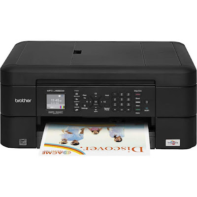 Start using your compact Brother inkjet all Brother MFC-J485DW Printer Driver Downloads