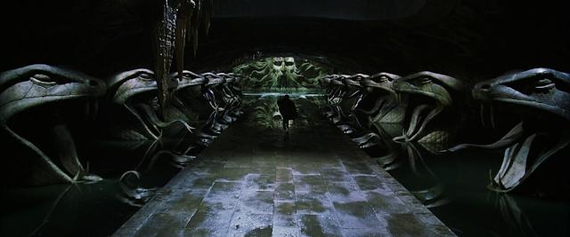 Стаята на тайните, построена от най-известния змиеуст Салазар Слидерин в Хари Потър и стаята на тайните