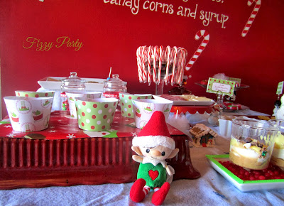 Elf Party, Christmas Party, Fizzy Party, Ten23Designs, Cupcake with Character