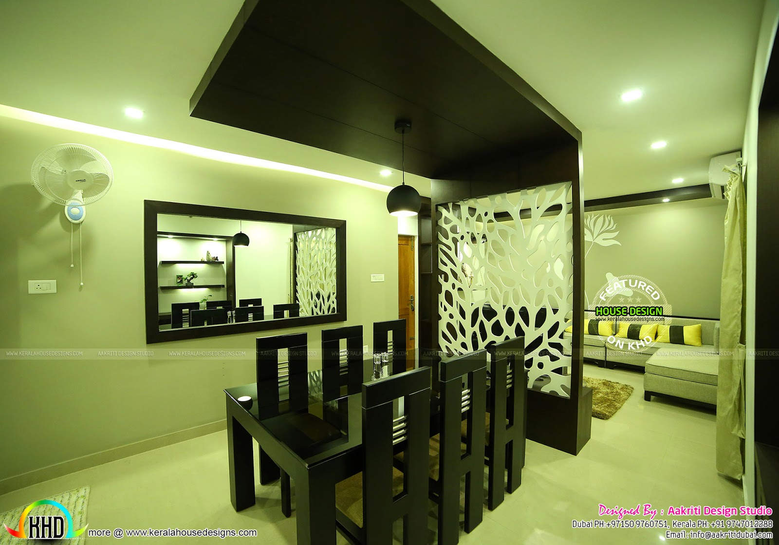 Dining Room Interior In Kannur Kerala