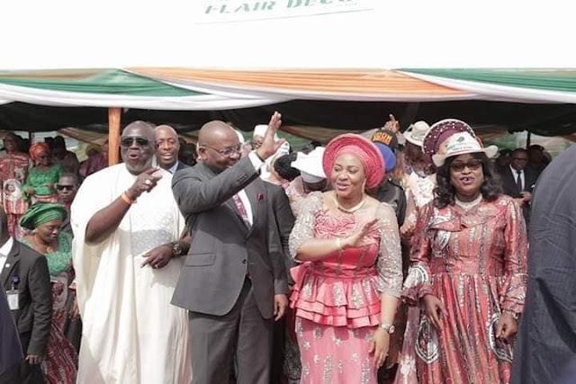 Akwa Ibom Governor and Wife