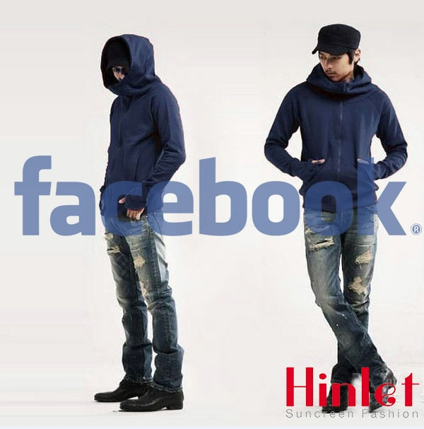 Áo khoác chống nắng cho nam Facbook