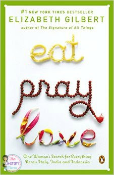 The Literary Maven reviews Eat, Pray, Love by Elizabeth Gilbert, travel memoir.