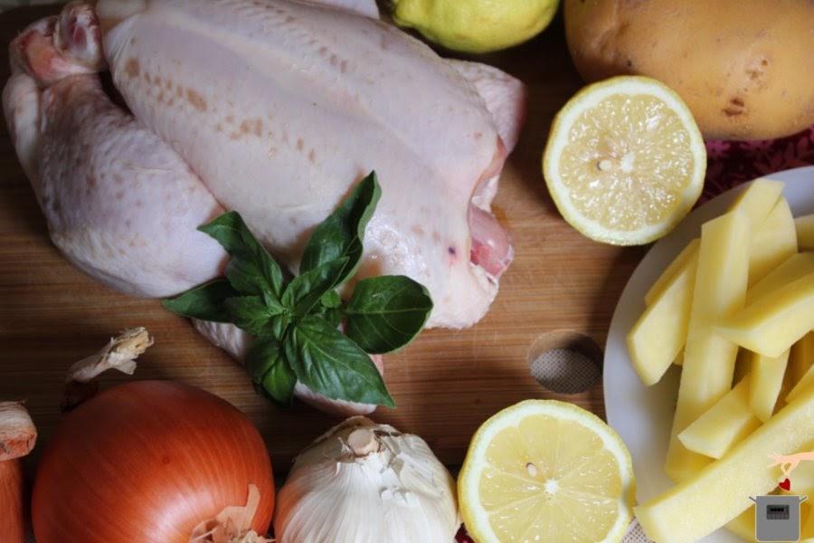 Pollo asado en olla el ctrica for Cocinar un pollo entero