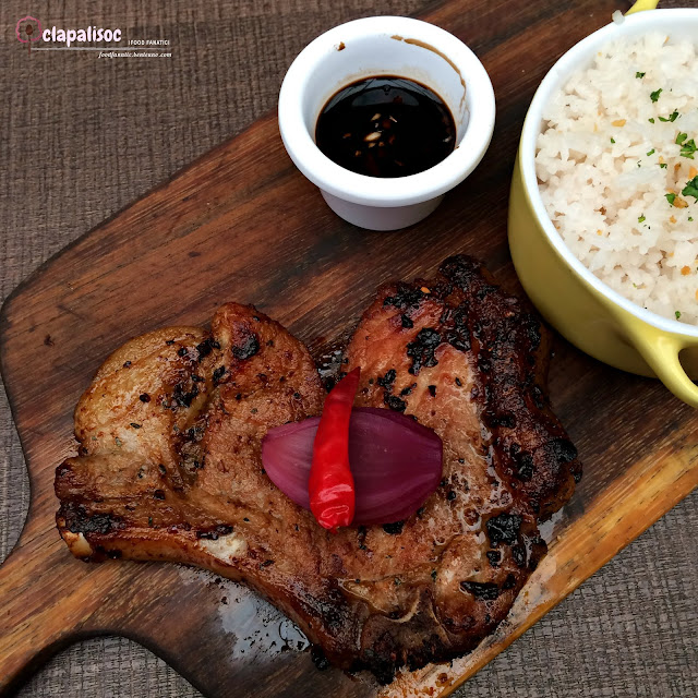 Herb Pork Chop with Garlic Rice from Italianni's PH
