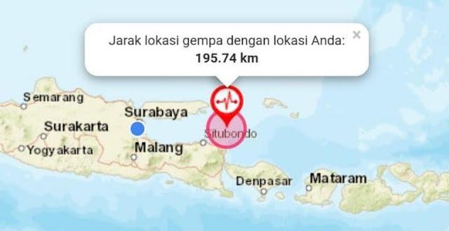 Gempa M 6,4 Situbondo, 9 Warga Sumenep Terluka Tertimpa Bangunan