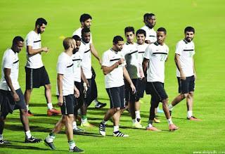 استعدادات المنتخب السعودي لمباراة الامارات