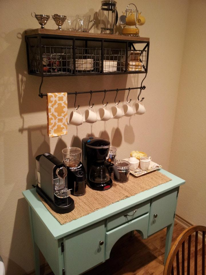 Coffee Bar Kitchen: Sea Legs: DIY Coffee Bar