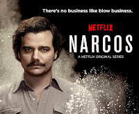 Wagner Moura in rolul lui Pablo Escobar, Narcos