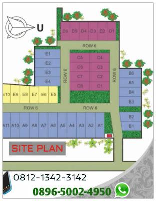 site-plan-vilamas-bellevue-pamulang