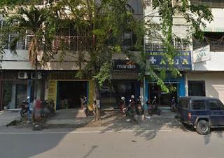 Lokasi ATM MANDIRI Setor Tunai [CDM] MEDAN