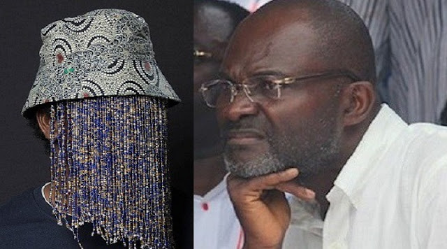 Anas Aremeyaw Anas (Left) And Hon. Kennedy Agyapong (Right)