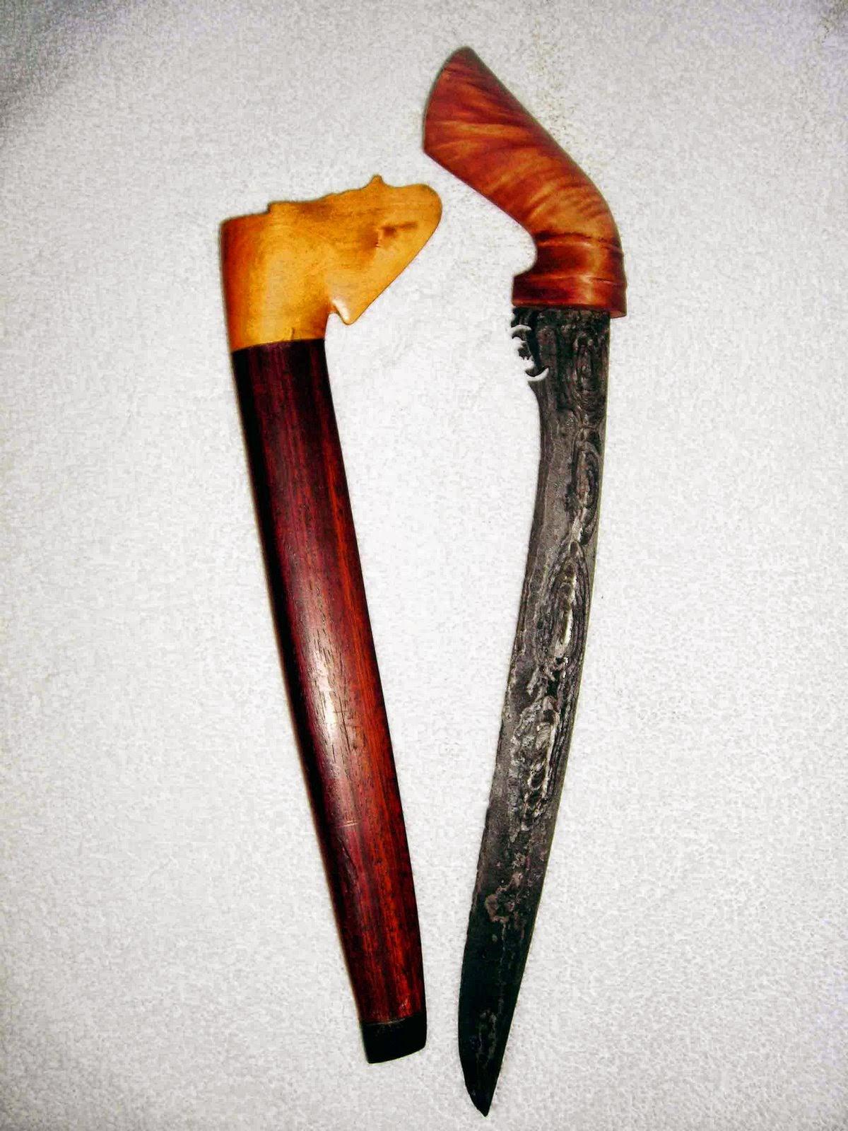 nama nama senjata tradisional indonesia beserta gambar dan