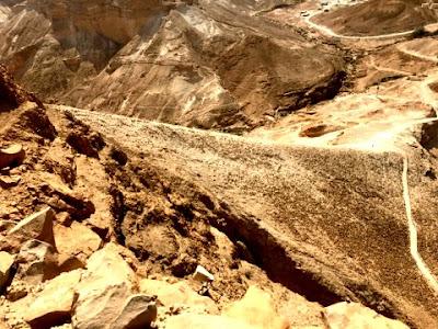 Roman Siege Ramp at Masada Israel