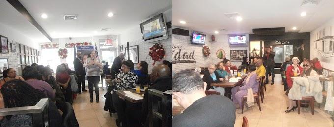 Espaillat promete mantener lucha en favor de inquilinos ante reforma fiscal de Trump en reunión con activistas en Harlem