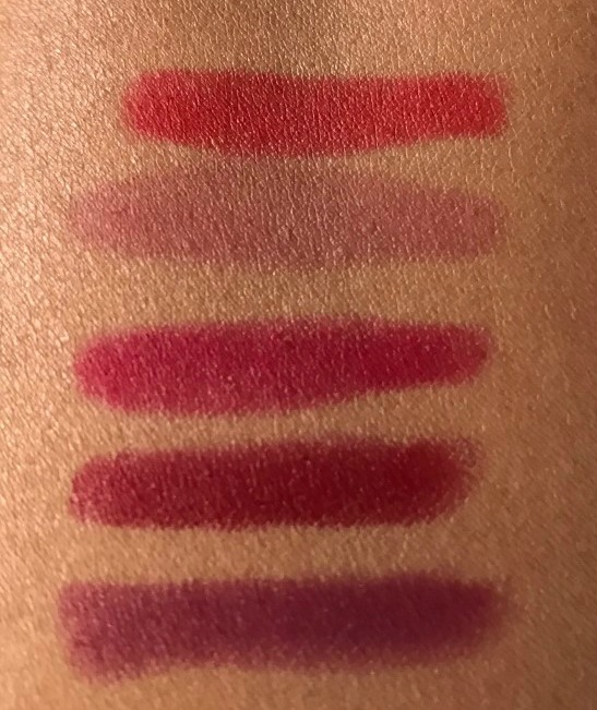 Nars Velvet Matte Lip Pencils Review & Swatches