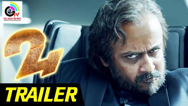 24 Official Trailer - Tamil   Suriya   Samantha   AR Rahman