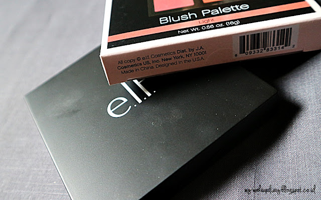 [REVIEW] ELF Blush on Palette in Light
