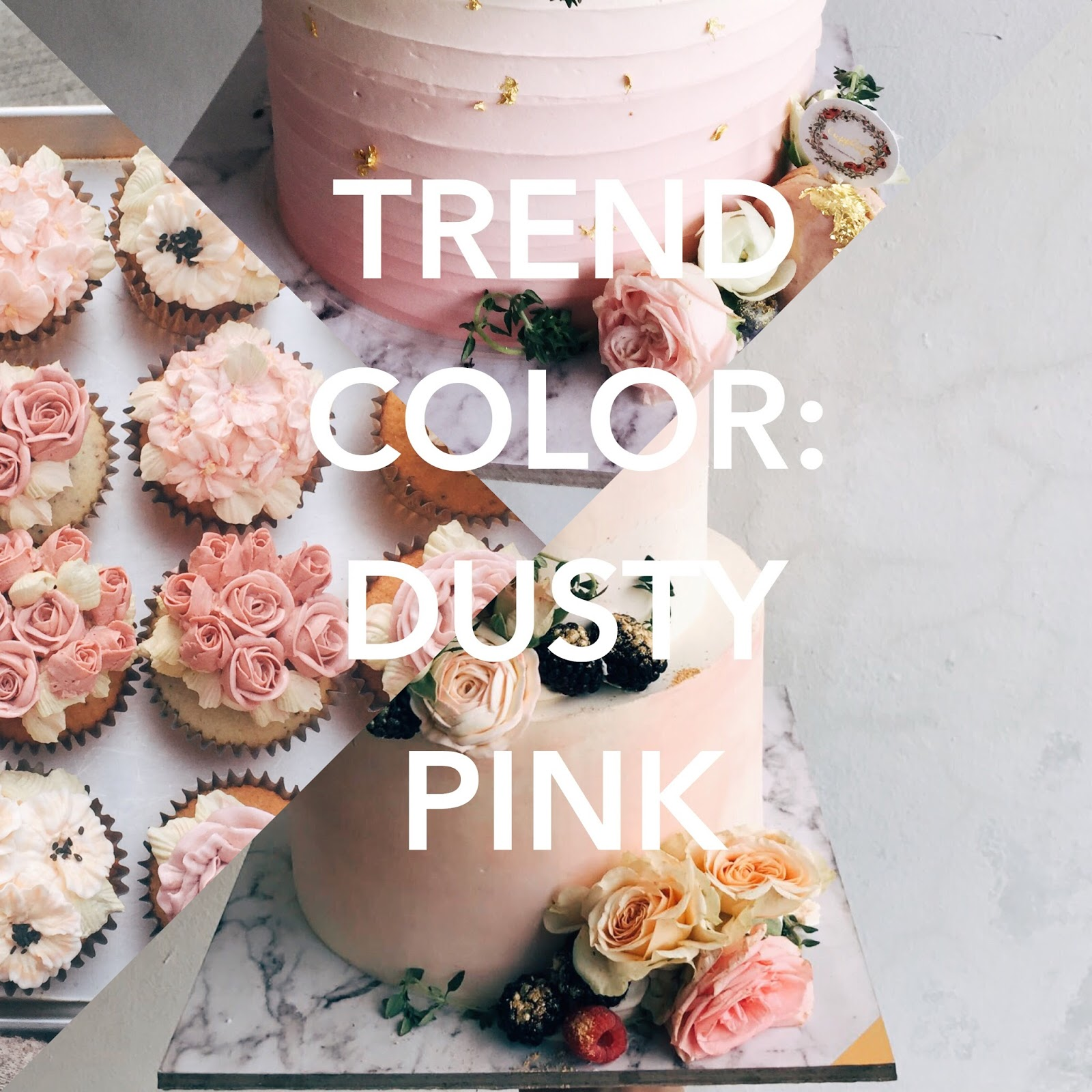 Color Trending Pink: Trend Colors: Dusty Pink