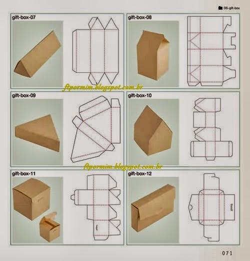 moldes para embalagens de bem casados