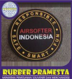 PATCH RUBBER | CUSTOM PATCH RUBBER | PATCH RUBBER MURAH | PATCH RUBBER TRENDY