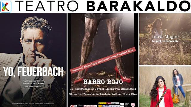 Cartelera del Teatro Barakaldo