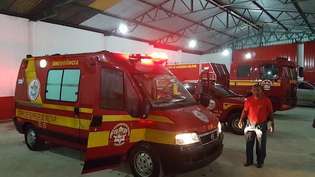 Chapadinha recebe caminhão e ambulância do Corpo de Bombeiro.