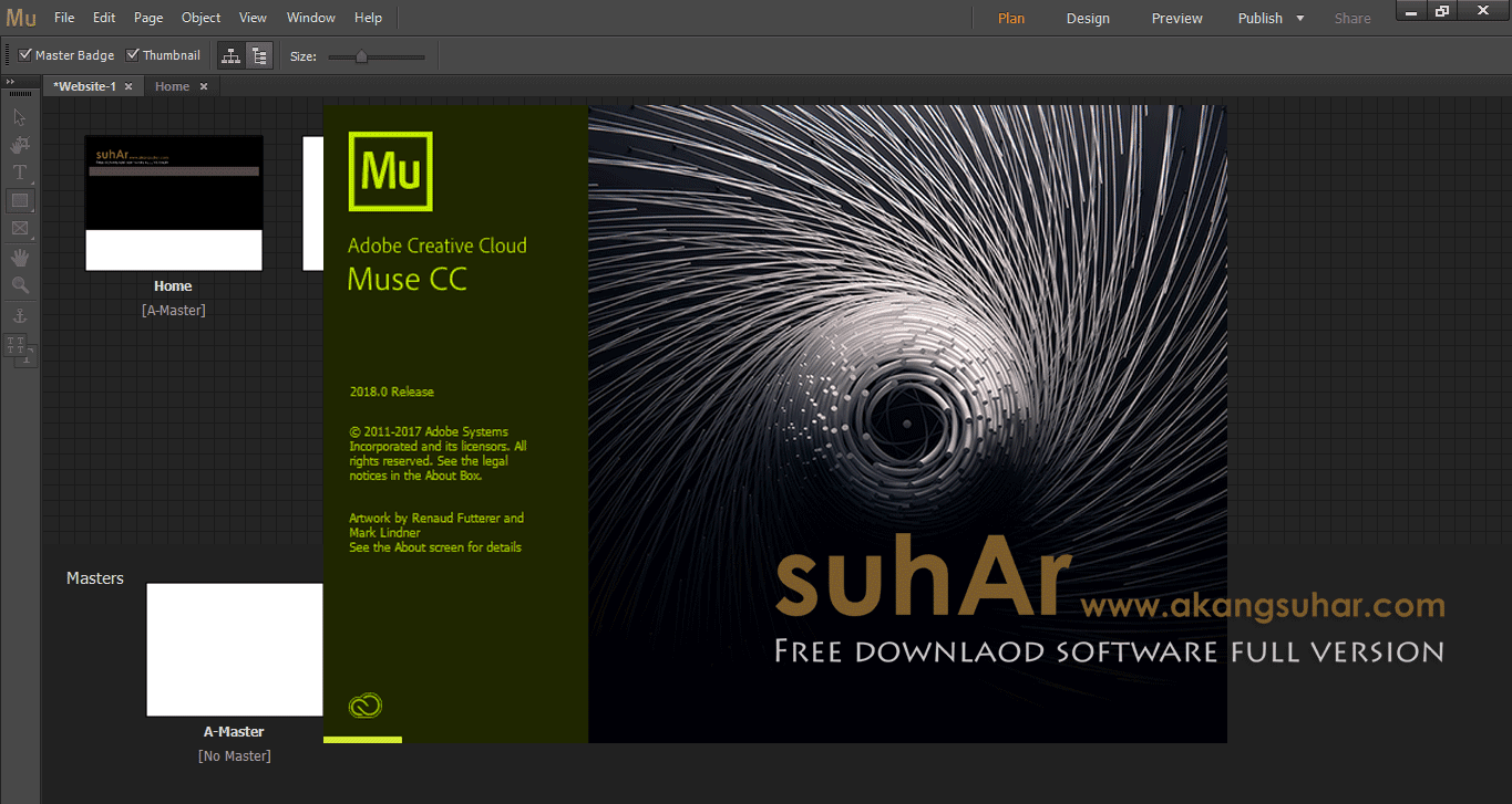 Adobe Muse CC 2018 Full Patch