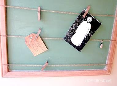 Chalkboard Memo Board www.homeroad.net