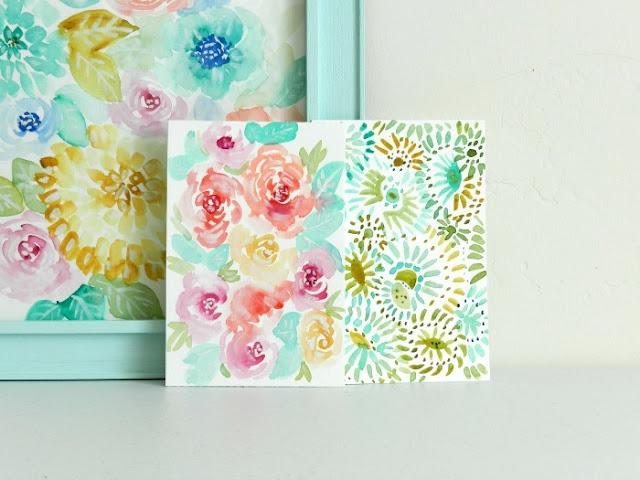 Pastel Flower Paintings by Elise Engh