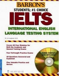 Barron IELTS student 1st choice
