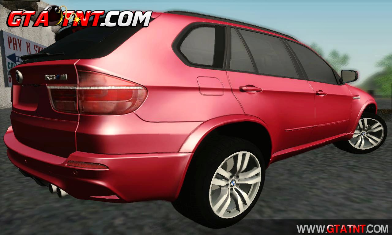 GTA SA - BMW X5M 2013 | GTA TNT | Mods Para GTA