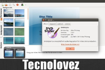 DVDStyler - Programma gratis per creare DVD  con una grafica professionale
