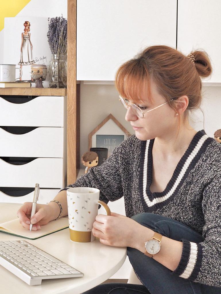 Apporter un peu de hygge au bureau - slow living - blog lifestyle Louise Grenadine