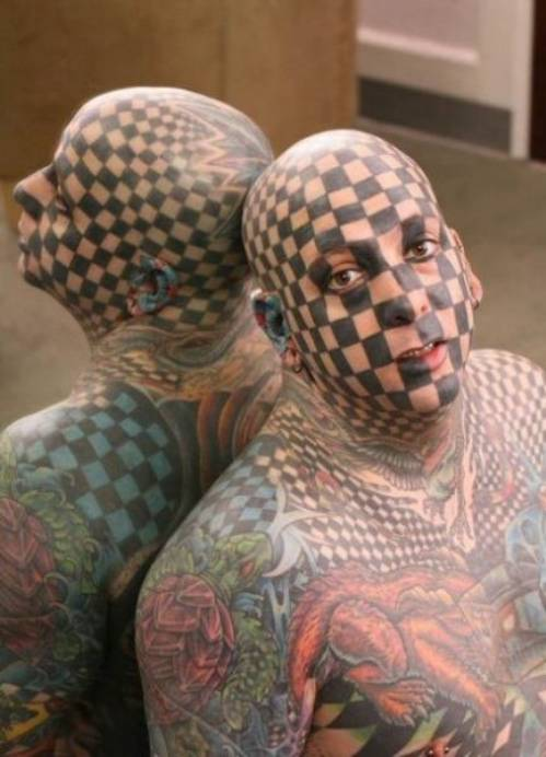 Tattoo Trend These Days Crazy Tattoos