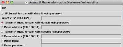 ISME v0 7] IP Phone Scanning Made Easy
