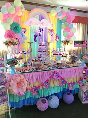 Little Pony Dessert Buffet