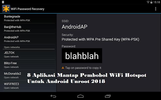 8 Aplikasi Mantap Pembobol WiFi Hotspot Untuk Android Unroot 2018