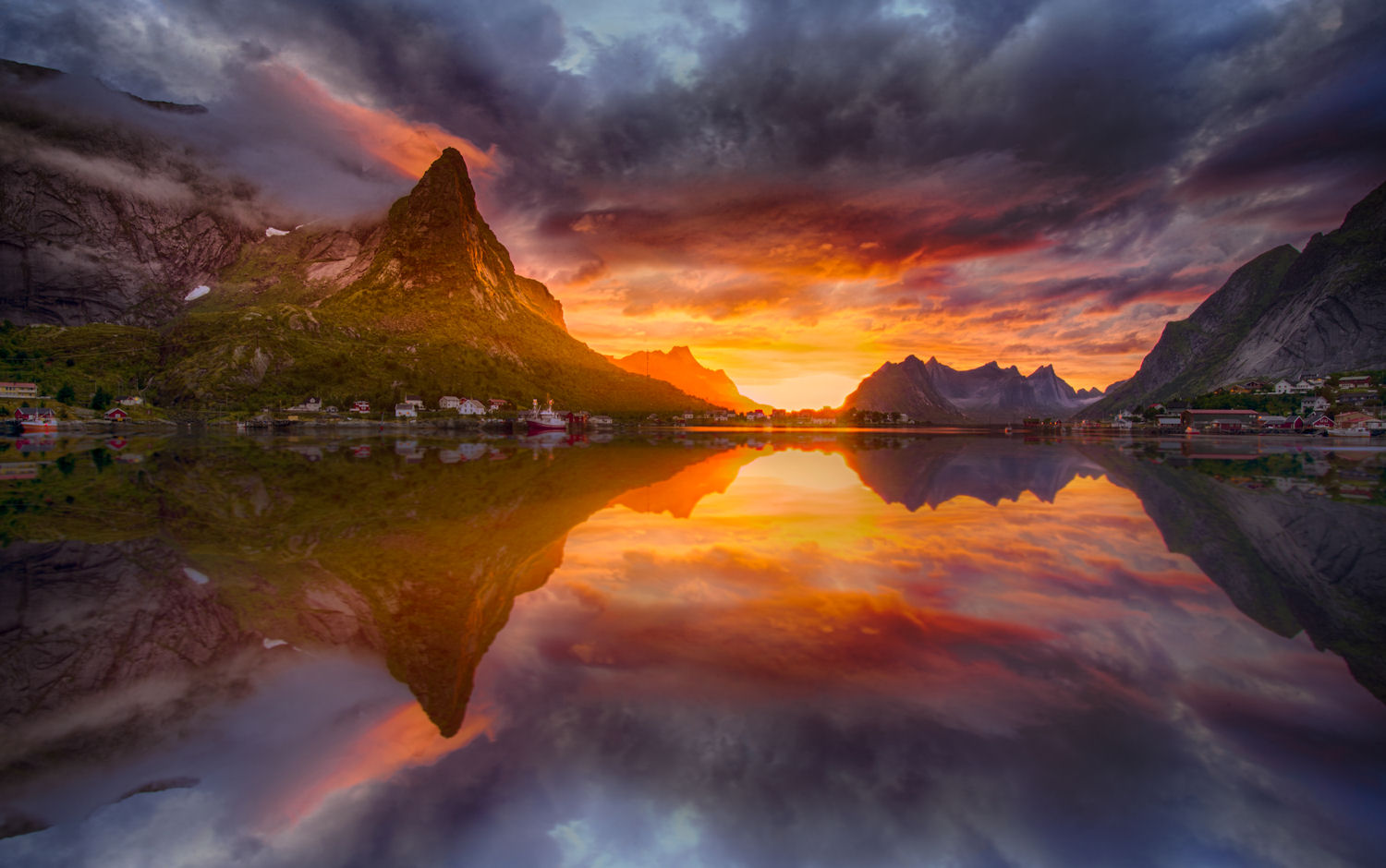 Expedition Northern Norway! Welcome to the land of the Midnight Sun in Lofoten, one of stops along the way of my journey. Photo © Jørn Allan Pedersen and VisitNorway.com. Unauthorized use is prohibited.