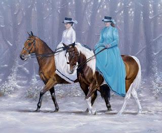 caballos-perros-cuadros