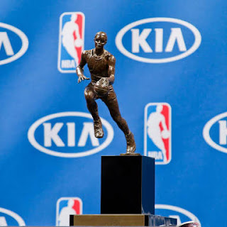 The NBA MVP Trophy